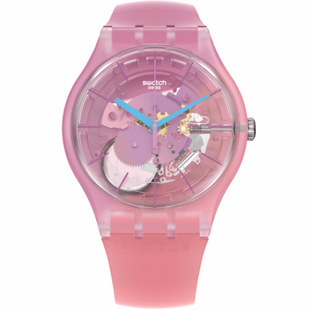 Swatch - Originals New Gent Lacquered SUPERCHARGED PINKS  SUOK151 Uhr