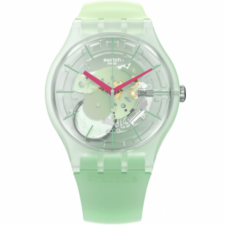 Swatch - Originals New Gent Lacquered MUTED GREEN SUOK152 Uhr