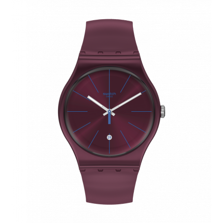 Swatch - Originals New Gent BURGUNDAZING SUOR402 Uhr