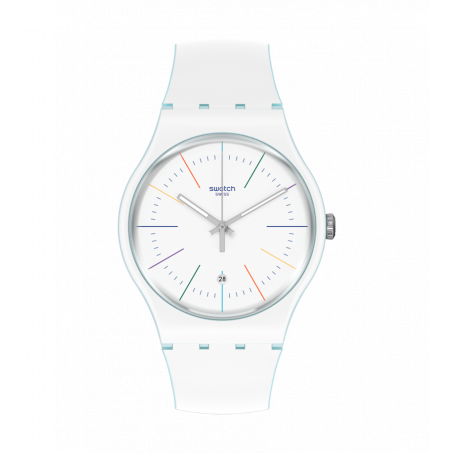 Swatch - Originals New Gent WHITE LAYERED SUOS404 Uhr