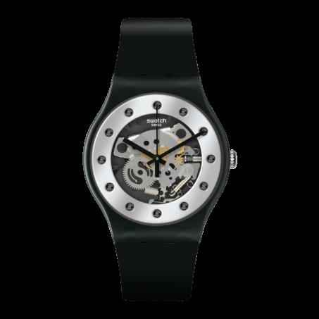 Swatch - Originals New Gent SILVER GLAM SUOZ147 Uhr