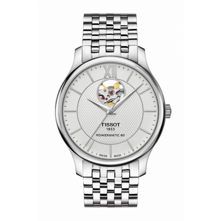 Tissot - Tradition Powermatic 80 Open Heart T063.907.11.038.00 Uhr