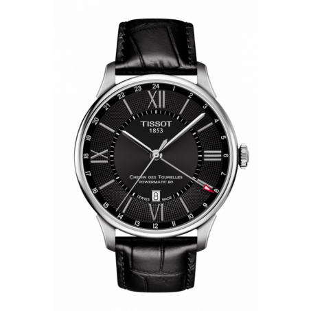 Tissot - Chemin Des Tourelles Powermatic 80 GMT T099.429.16.058.00 Uhr