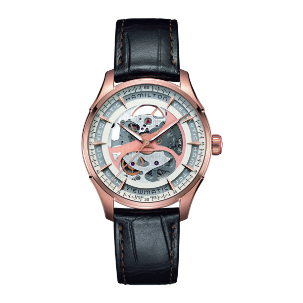 Hamilton Jazzmaster Viewmatic Skeleton H42545551 Uhr