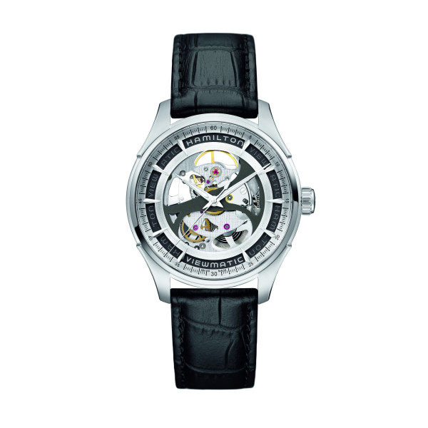 Hamilton Jazzmaster Viewmatic Skeleton H42555751 Uhr