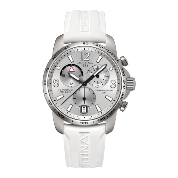 Certina DS Podium Big Size Chrono GMT Aluminium C001.639.97.037.00 Uhr