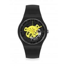 Swatch - Originals New Gent TIME TO YELLOW BIG Damenuhren / Herrenuhren Online Shop - günstig kaufen bei Studer & Hänni AG