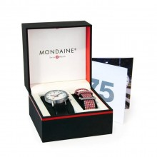 Mondaine - Classic 75 Jahre SPECIAL EDITION Damenuhren / Herrenuhren Online Shop - günstig kaufen bei Studer & Hänni AG