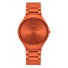 Rado - True Thinline Les Couleurs™ Le Corbusier Powerful orange 4320S  Damenuhren / Herrenuhren Online Shop - günstig kaufen bei Studer & Hänni AG
