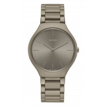 Rado - True Thinline Les Couleurs™ Le Corbusier Grey brown natural umber 32141 Damenuhren / Herrenuhren Online Shop - günstig kaufen bei Studer & Hänni AG