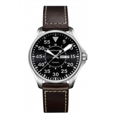 Hamilton - Khaki Aviation Pilot Day Date Quartz Damenuhren / Herrenuhren Online Shop - günstig kaufen bei Studer & Hänni AG