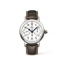 Longines - The Longines Column-Wheel Single Push-Piece Chronograph  Damenuhren / Herrenuhren Online Shop - günstig kaufen bei Studer & Hänni AG