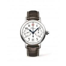 Longines - The Longines Column-Wheel Single Push-Piece Chronograph  Damenuhren / Herrenuhren Online Shop - günstig kaufen bei Studer & Hänni AG