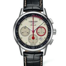 Longines - The Longines Column-Wheel Chronograph Record Damenuhren / Herrenuhren Online Shop - günstig kaufen bei Studer & Hänni AG