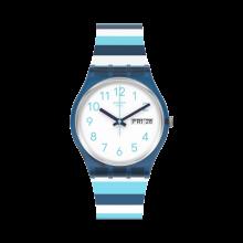 Swatch - Originals Gent STRIPED WAVES Damenuhren / Herrenuhren Online Shop - günstig kaufen bei Studer & Hänni AG