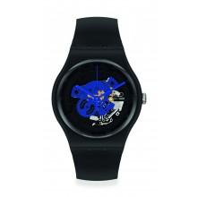 Swatch - Originals New Gent TIME TO BLUE BIG Damenuhren / Herrenuhren Online Shop - günstig kaufen bei Studer & Hänni AG