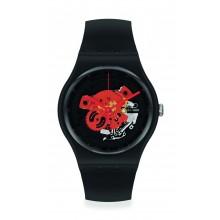 Swatch - Originals New Gent TIME TO RED BIG Damenuhren / Herrenuhren Online Shop - günstig kaufen bei Studer & Hänni AG