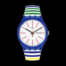 Swatch - Originals New Gent HOME STRIPE HOME Damenuhren / Herrenuhren Online Shop - günstig kaufen bei Studer & Hänni AG