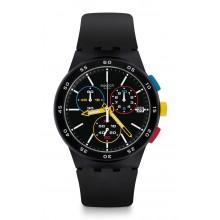 Swatch - Originals Chrono Plastic BLACK-ONE Damenuhren / Herrenuhren Online Shop - günstig kaufen bei Studer & Hänni AG