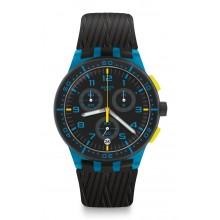 Swatch - Originals Chrono Plastic BLUE TIRE Damenuhren / Herrenuhren Online Shop - günstig kaufen bei Studer & Hänni AG