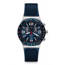 Swatch - Irony New Chrono BLUE GRID Damenuhren / Herrenuhren Online Shop - günstig kaufen bei Studer & Hänni AG