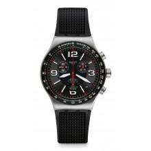 Swatch - Irony New Chrono VERY DARK GRID Damenuhren / Herrenuhren Online Shop - günstig kaufen bei Studer & Hänni AG