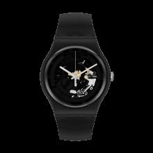 Swatch - Originals New Gent SPOT TIME BLACK Damenuhren / Herrenuhren Online Shop - günstig kaufen bei Studer & Hänni AG