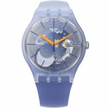 Swatch - Originals New Gent Lacquered ALL THAT BLUES Damenuhren / Herrenuhren Online Shop - günstig kaufen bei Studer & Hänni AG