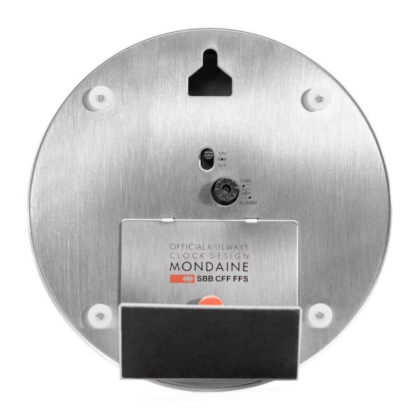Mondaine - Mini Clock with Alarm