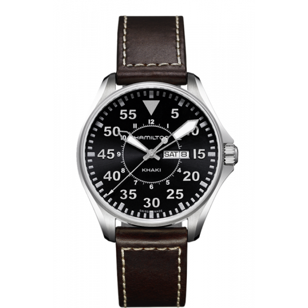 Hamilton - Khaki Aviation Pilot Day Date Quartz