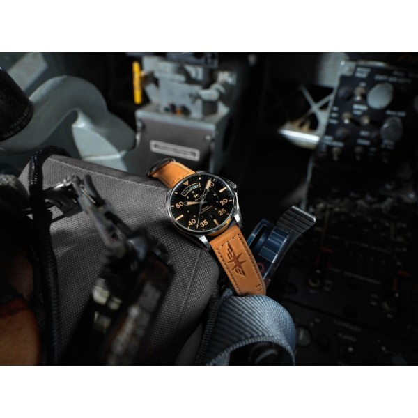 Hamilton - Khaki Aviation Day Date Auto