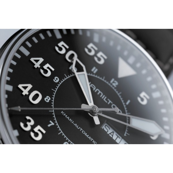 Hamilton - Khaki Aviation Pilot Day Date Auto