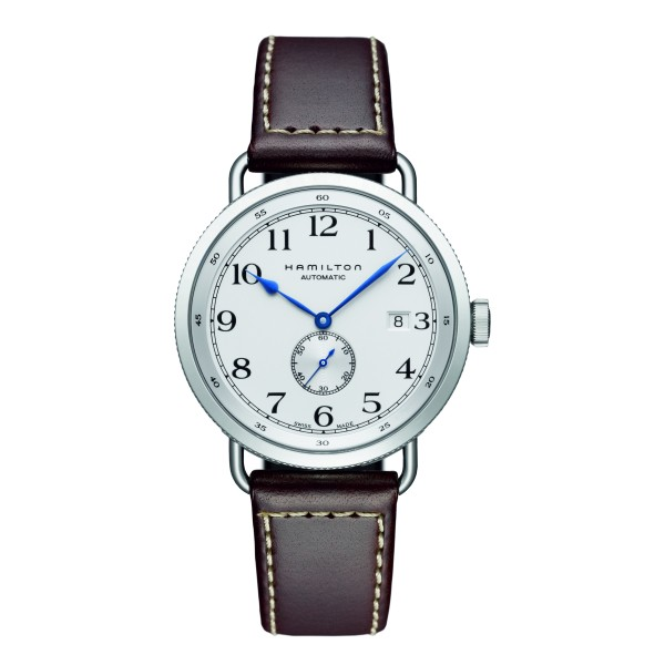 Hamilton - Khaki Navy Pioneer Small Second Auto