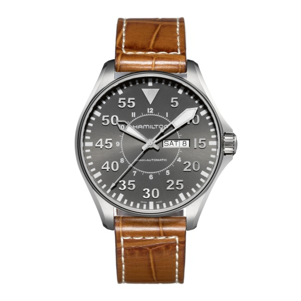Hamilton - Khaki Aviation Pilot Day Date Auto