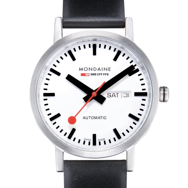Mondaine - Classic Automatic Day Date 40mm