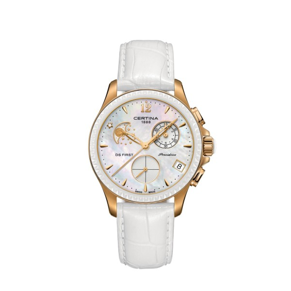 Certina - DS First Lady Chronograph Moon Phase