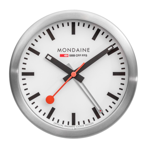 Mondaine - Mini Clock with Alarm