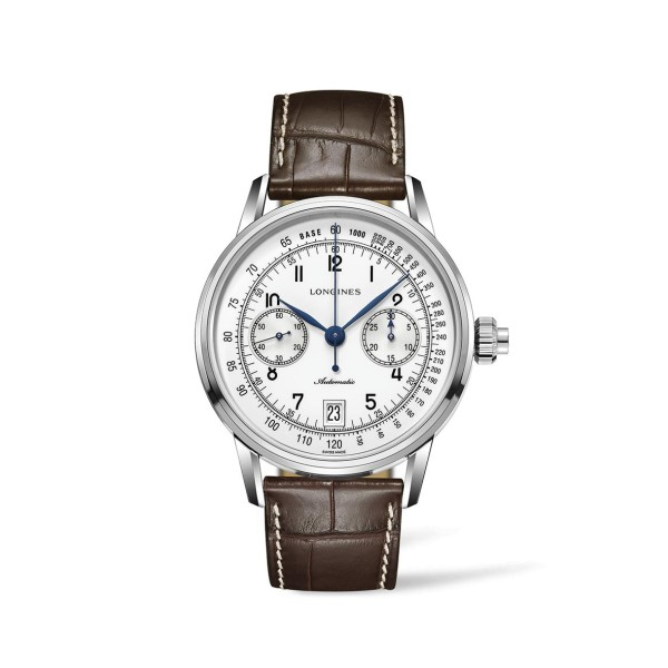 Longines - Heritage Technical Milestones The Longines Column-Wheel Single Push-Piece Chronograph