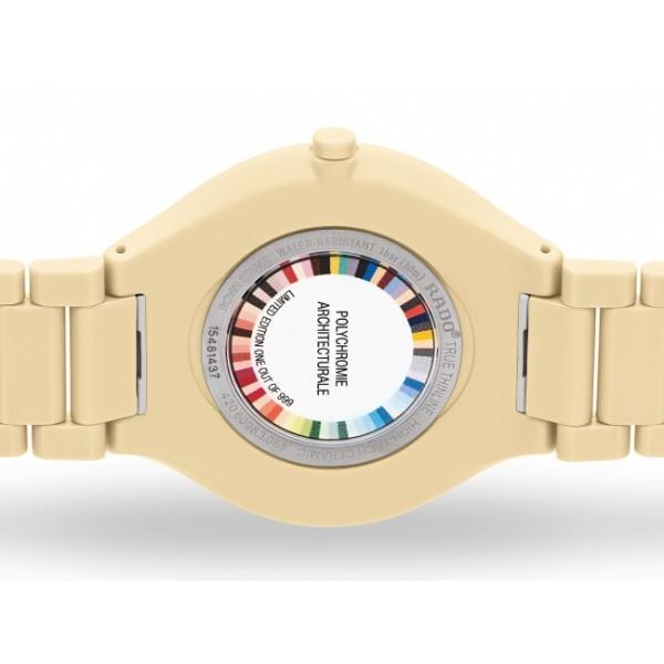 Rado - True Thinline Les Couleurs™ Le Corbusier Cream white 32001