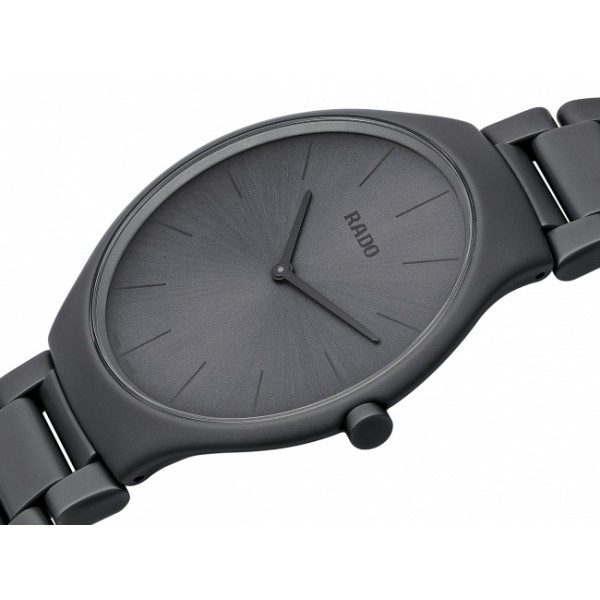 Rado - True Thinline Les Couleurs™ Le Corbusier Iron grey 32010