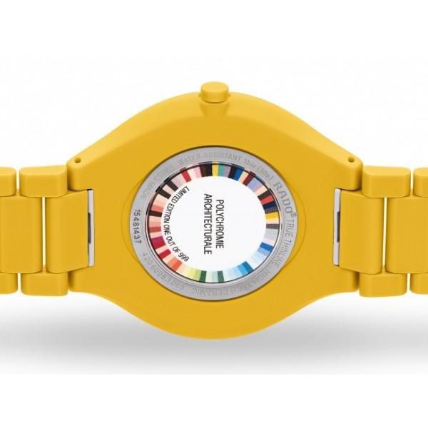 Rado - True Thinline Les Couleurs™ Le Corbusier Sunshine yellow 4320W