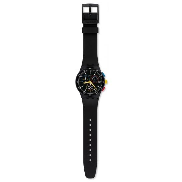 Swatch - Originals Chrono Plastic BLACK-ONE