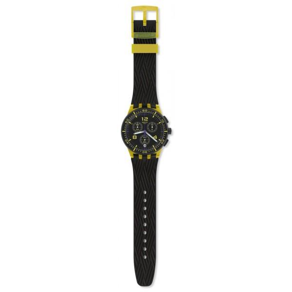Swatch - Originals Chrono Plastic YELLOW TIRE