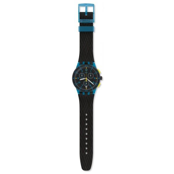 Swatch - Originals Chrono Plastic BLUE TIRE