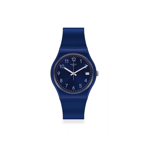 Swatch - Originals Gent SILVER IN BLUE