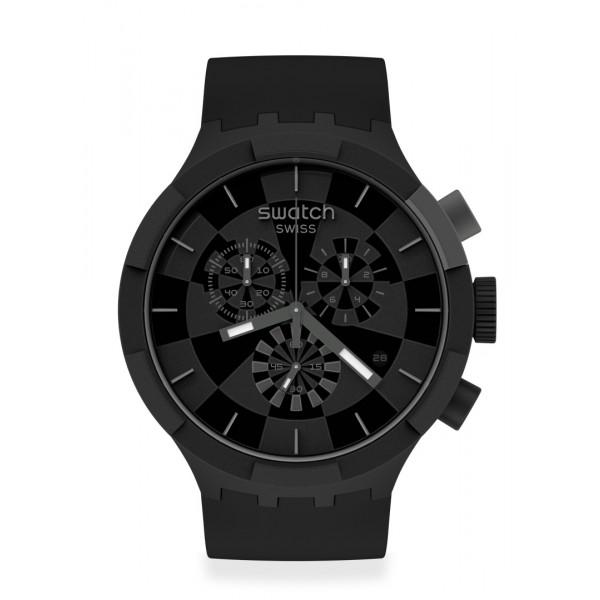 Swatch - Originals Big Bold Chrono CHECKPOINT BLACK