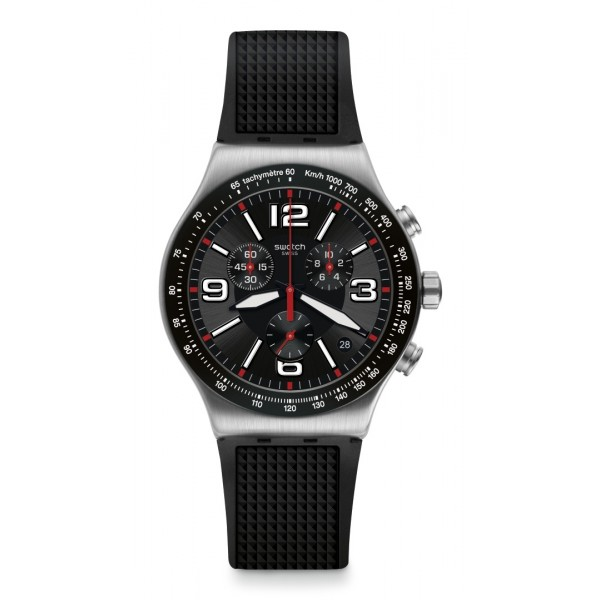 Swatch - Irony New Chrono VERY DARK GRID