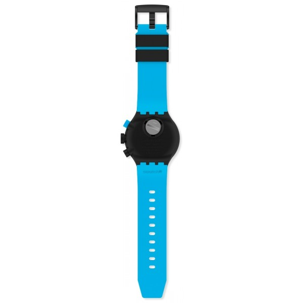Swatch - Originals Big Bold Chrono CHECKPOINT BLUE