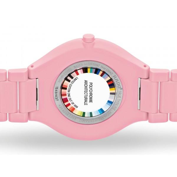Rado - True Thinline Les Couleurs™ Le Corbusier Luminous pink 4320C