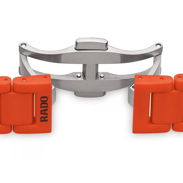 Rado - True Thinline Les Couleurs™ Le Corbusier Powerful orange 4320S